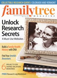 April 30, 2019 issue of Family Tree