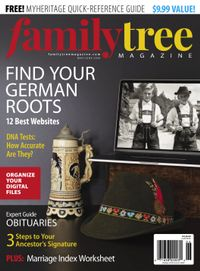 May 01, 2020 issue of Family Tree