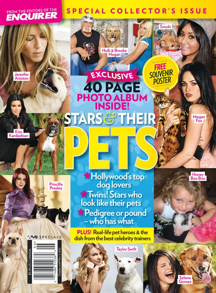 Stars & their Pets - Issue Subscriptions