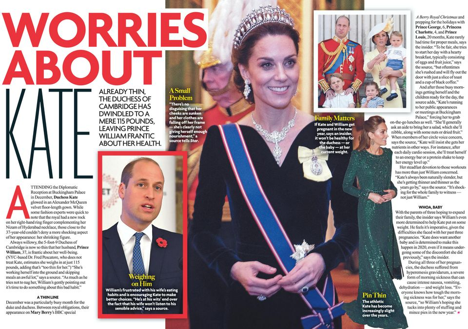 WORRIES ABOUT KATE