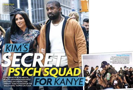 KIM'S SECRET PSYCH SQUAD FOR KANYE