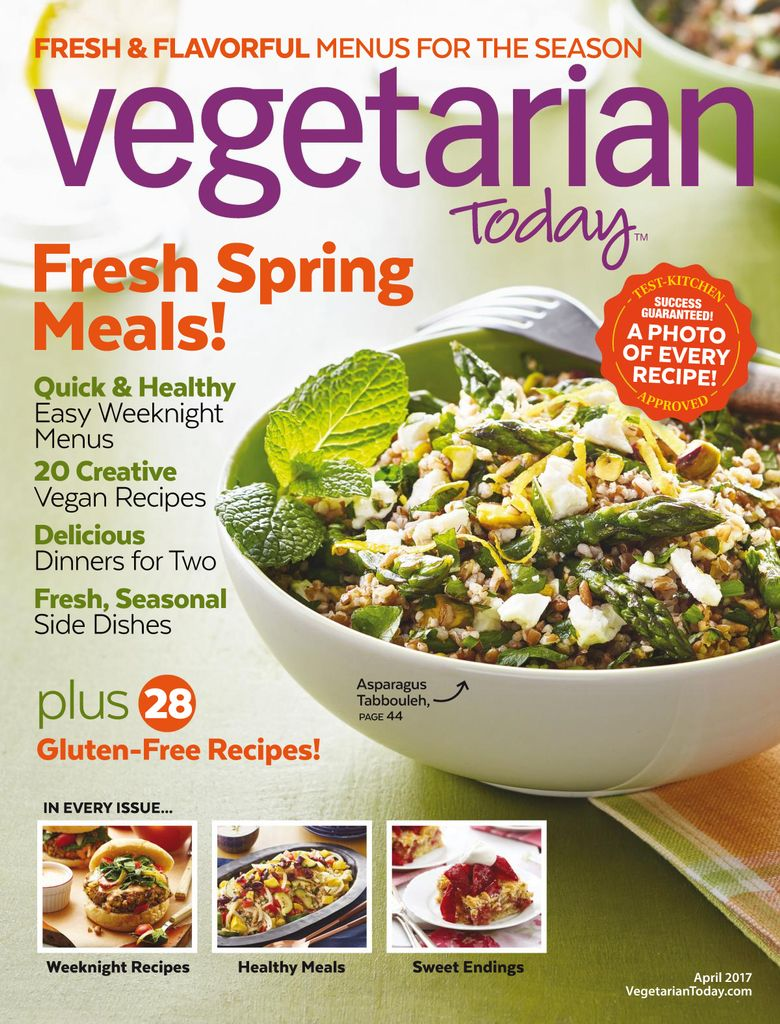 March 01, 2017 issue of Vegetarian Today
