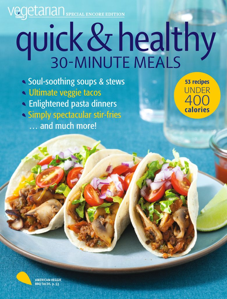Vegetarian Times - Healing Foods Cookbook - Issue Subscriptions
