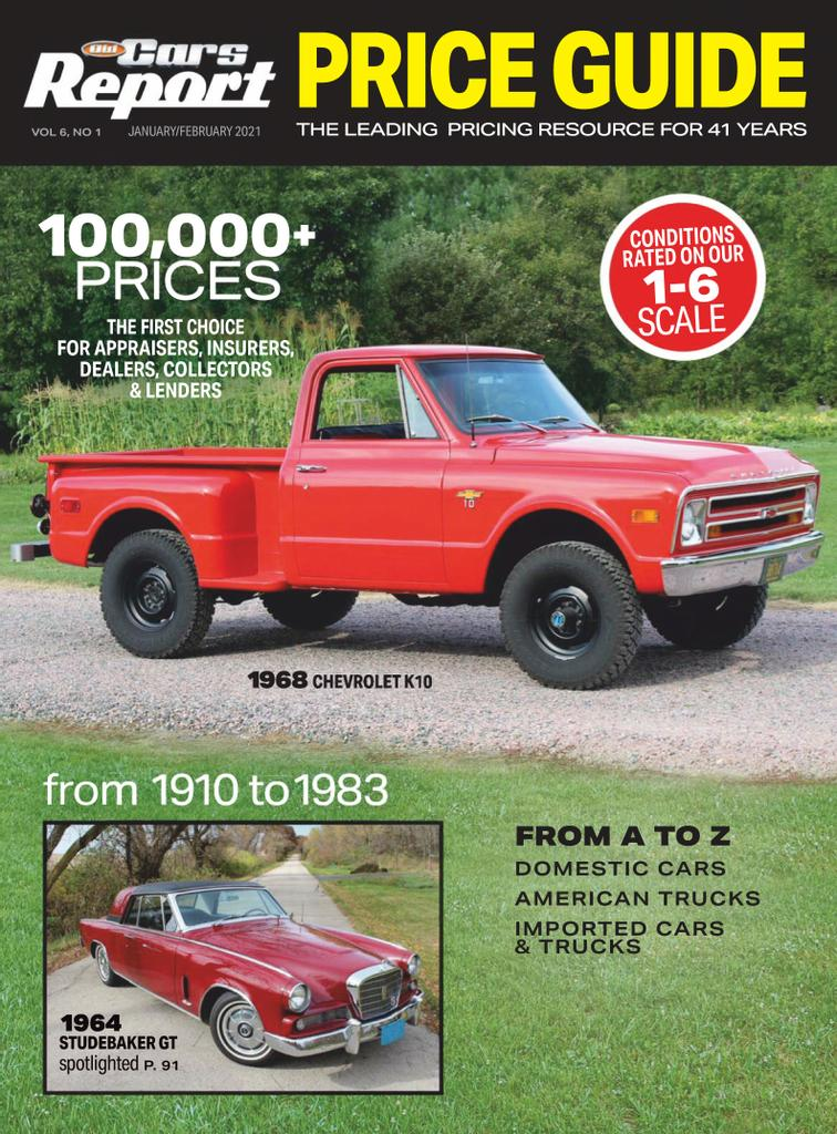 Old Cars Report Price Guide