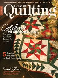 November 01, 2020 issue of Love of Quilting