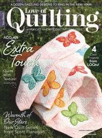 January 01, 2021 issue of Love of Quilting