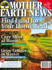 July 31, 2018 issue of MOTHER EARTH NEWS