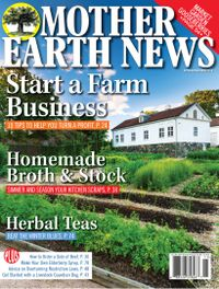 September 30, 2018 issue of MOTHER EARTH NEWS