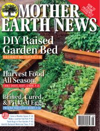 March 31, 2019 issue of MOTHER EARTH NEWS