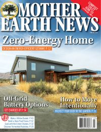 May 31, 2019 issue of MOTHER EARTH NEWS