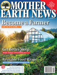 July 31, 2019 issue of MOTHER EARTH NEWS
