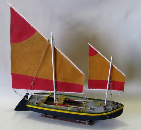 Build a colorful FISHING BOAT