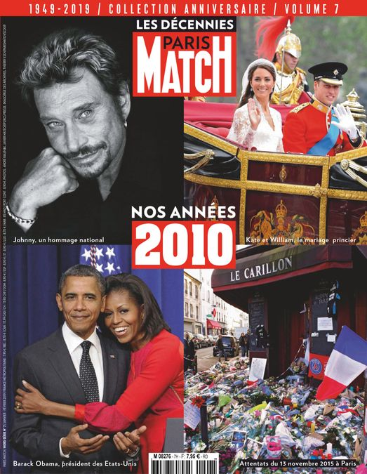 Paris Match décennies