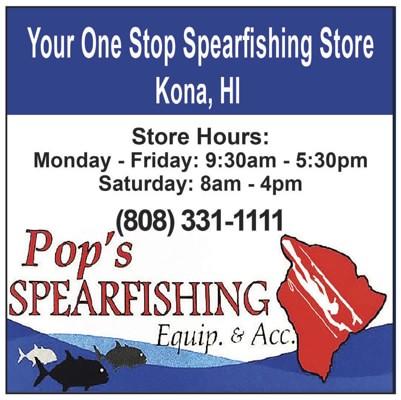 Pop's Spearfishing Ad