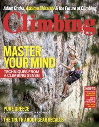 May 01, 2016 issue of Climbing
