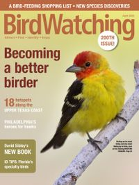 March 01, 2020 issue of BirdWatching