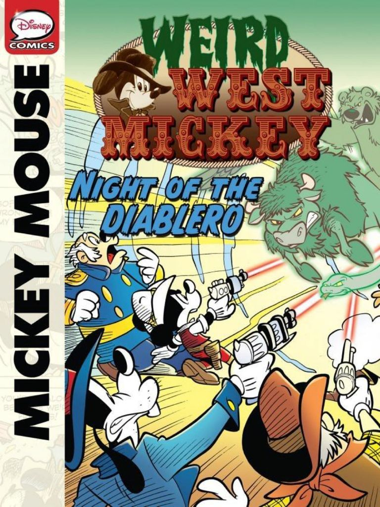Weird West Mickey, Vol.1: Night Of The Diablero