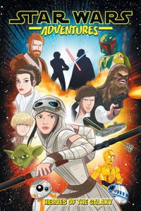 March 26, 2019 issue of Star Wars: Adventures, Vol.1: Heroes of the Galaxy