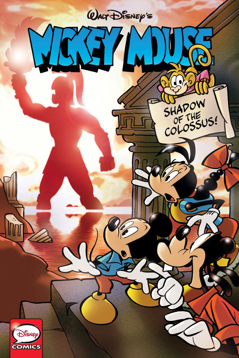Mickey Mouse, Vol.4: Shadow Of The Colossus