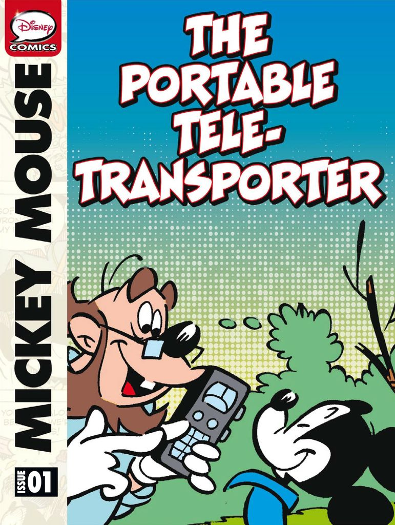 Mickey Mouse: The Portable Tele-Transporter