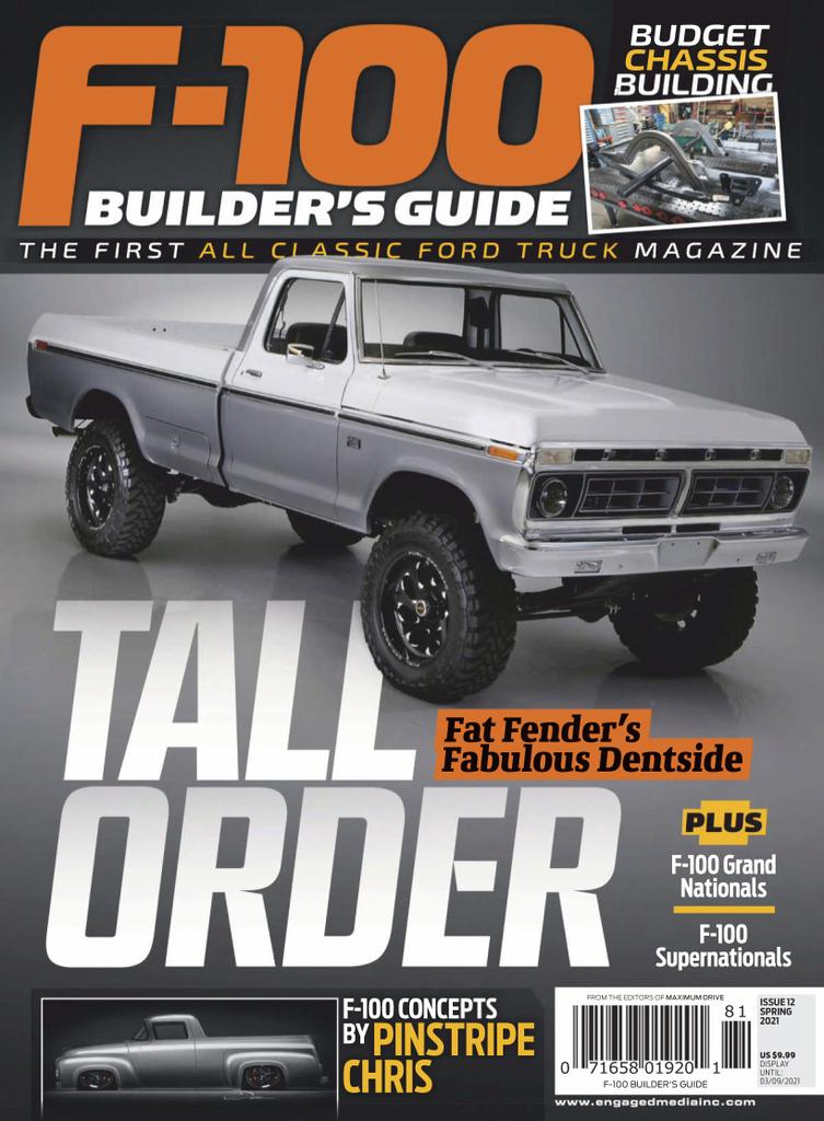 F100 Builders Guide Magazine