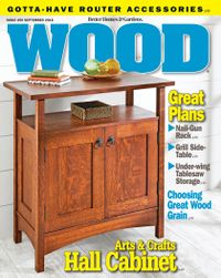 August 31, 2018 issue of WOOD Magazine