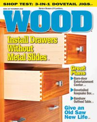 October 31, 2018 issue of WOOD Magazine