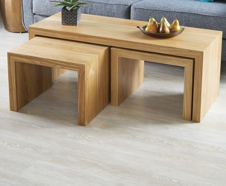 For setting or seating Nesting Tables