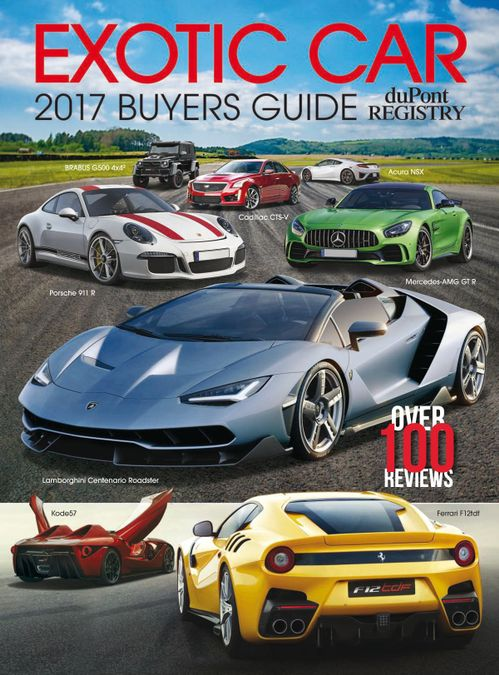 Exotic Car Buyers Guide