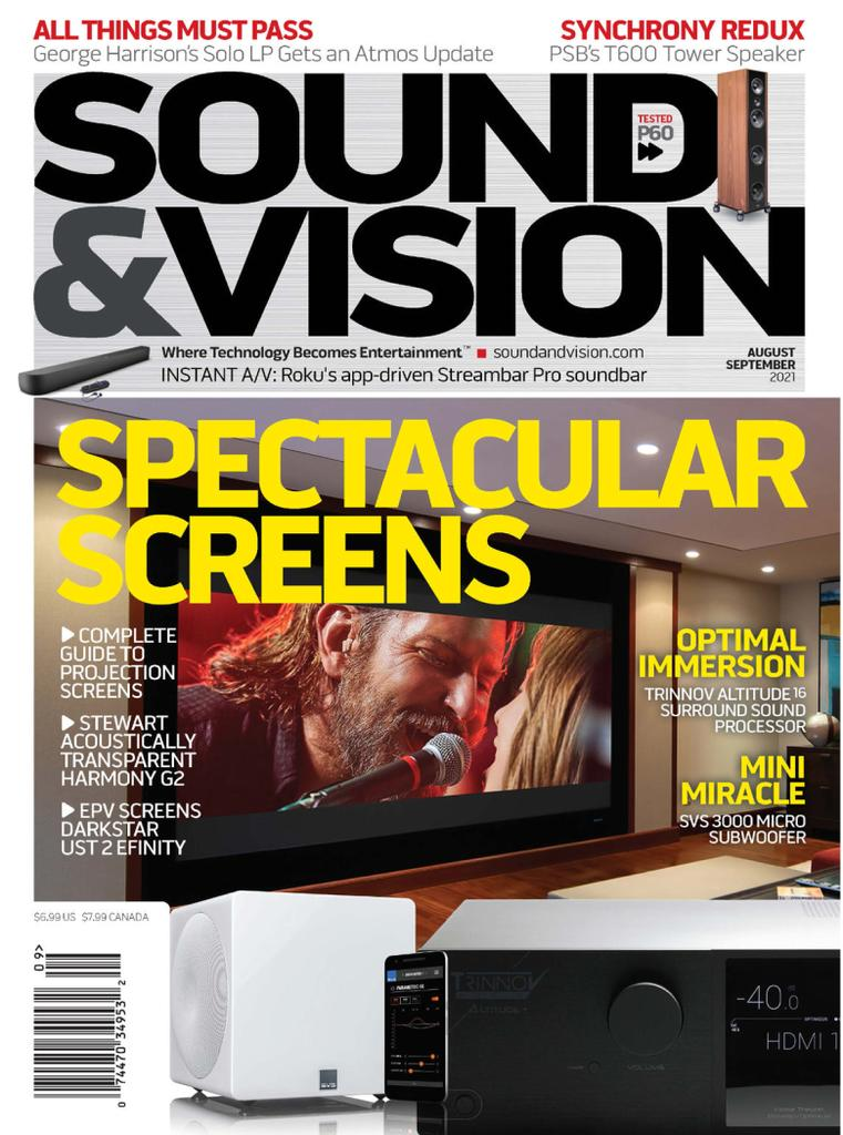 Sound and Vision - Subscription