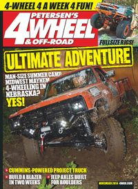 November 01, 2014 issue of 4 Wheel & Off Road